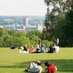 University of Kent view of Canterbury